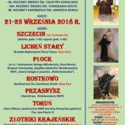 Pielgrzymka z okazji rocznicy śmierci Św. Faustyny Kowalskiej i Św. Stanisława Kostki oraz kanonizacji Św. Andrzeja Boboli