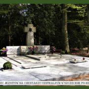 Grobowiec Jezuitów na cmentarzu centralnym w Szczecinie po renowacji