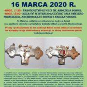 NABOŻEŃSTWO KU CZCI ŚW. ANDRZEJA BOBOLI - 16 MARCA 2020 R.