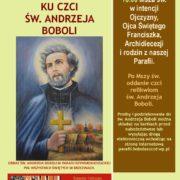 Nabożeństwo ku czci Św. Andrzeja Boboli (16 lipca 2018)