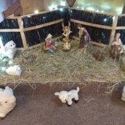Szopka bożonarodzeniowa 2019 - dolny kościół